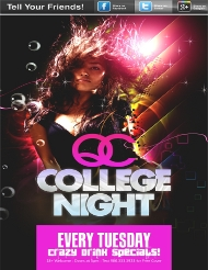 QC College Night! - Every Tuesday