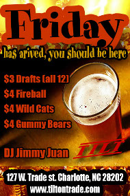 Friday has arrived you should be here