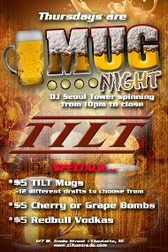 MUG NIGHT THURSDAYS at Tilt