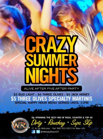 Crazy Summer Nights - Alive After FIve After Party!