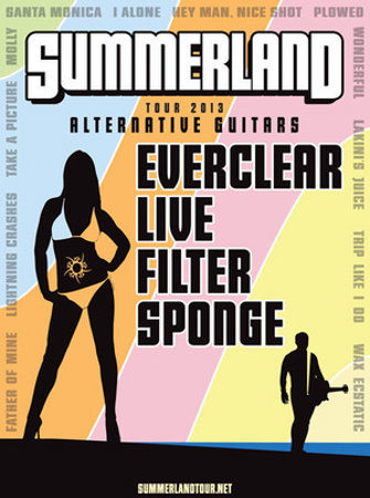 Summerland Tour w/ Everclear Time Warner Cable Amphitheatre Charlotte