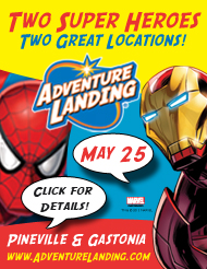 Spider-Man & Iron Man, Two Super Heroes, Two Great Locations!