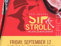 The 5th Annual Sip and Stroll: Art, Wine, & Music Festival