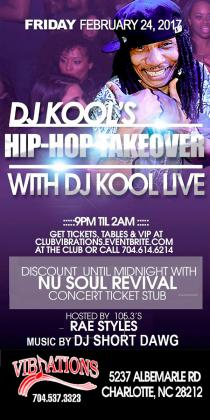 DJ KOOL's 4TH ANNUAL HIP-HOP TAKEOVER