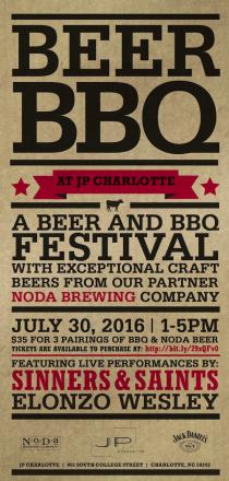 Beer BBQ at The Westin Charlotte 7/30