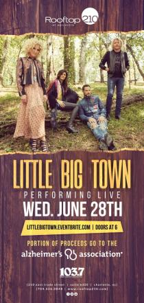 Little Big Town 6/28 RoofTop
