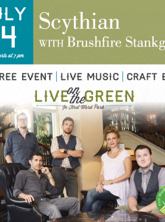 Live On The Green ft Scythian 7/14 First Ward Park