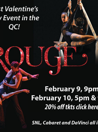 Rouge: Dance and Circus Cabaret Feb 9 & 10 Booth Playhouse