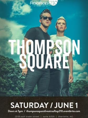 Thompson Square Live at Rooftop 210 June 1st