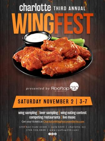 Charlotte WING Fest | 3rd Annual Nov 2nd