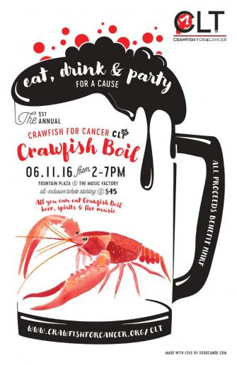 Crawfish for Cancer's 1st Annual Charlotte Crawfish Boil 6/11