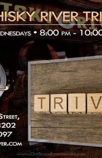 Trivia Night at Whisky River Every Wednesday