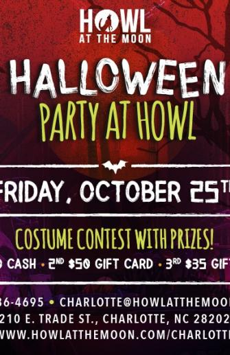 Halloween Party at Howl 10/25