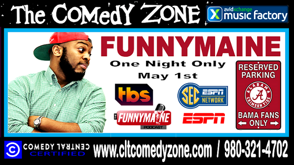 "Jermaine ""FunnyMaine� Johnson (Special Event)"