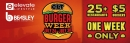 CLT Burger Week July 24th to 30th