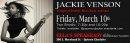 Jackie Venson 3/10 Morehead Tavern