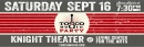 Tosco Music Party 9/16 KNIGHT THEATER