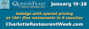 Queen's Feast: Charlotte Restaurant Week January 19-28