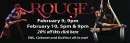 Rouge: Dance and Circus Cabaret Feb 9 & 10 Booth Playhous
