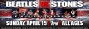 Beatles vs. Stones 4/15 McGlohon Theatre