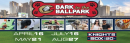 Bark in the Ballpark 5/21, 7/16 & 8/27