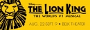The Lion King Aug 22 - Sep 9 BELK THEATER