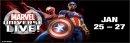 Marvel Universe Live! Jan 25 - 27 Spectrum Center