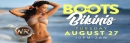August Boots & Bikinis 2019 at Whisky River 8/27